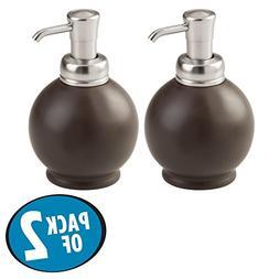 mDesign Liquid Soap Dispenser Pump Bottle for Kitchen Sink,