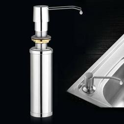 Liquid Soap Dispenser Pump Built in Kitchen Sink Countertop