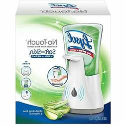 Lysol No Touch Hand Soap Kit Gadget + 1 Refill Moisturizing