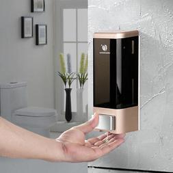 Manual Wall Mount Soap Dispenser 500ml Liquid Hand Clean Lot