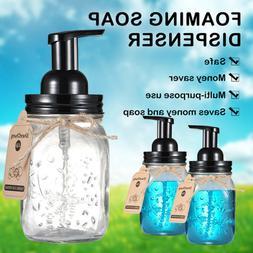 Mason Jar Foaming Soap Dispenser Pump Bottle Foaming Hand Wa