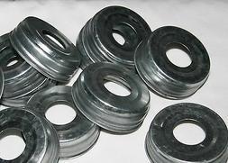 Mason Jar Lids - 12ct for Soap Dispenser Pumps, Tissue Holde