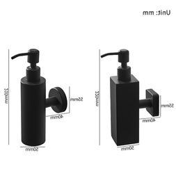vidric matte black liquid hand <font><b>soap</b></font> <fon
