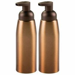Mdesign Compact Modern Metal Foaming Soap Dispenser Pump Bot