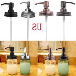 Metal Soap Lotion Dispenser Bottles Lids Pumps for Regular M