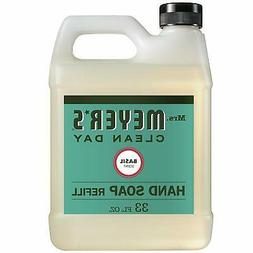Mrs. Meyer's - Liquid Hand Soap Refill, Basil - 33 Ounce 975