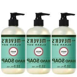 Mrs. Meyer's Clean Day Liquid Hand Soap, Basil Scent, 12.5