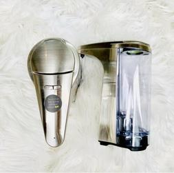 New Simplehuman 8 fl oz Sensor Compact Soap  Dispenser Set O