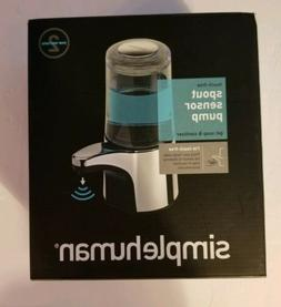 NEW SIMPLEHUMAN SOAP DISPENSER TOUCH FREE OPEN BOX ITEM