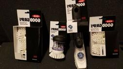 New OXO Good Grips Soap Dispensing Dish Brush combo and refi