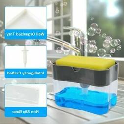 new soap pump dispenser and sponge holder