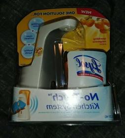 Lysol No-Touch Kitchen System Dish Soap Dispenser Kit Tanger