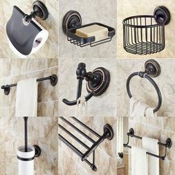 Oil Rubbed Bronze Bathroom Accessories Set Bath Hardware Tow