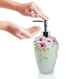 10 Oz Pastoral Handcrafted Soap Dispenser By JASAI, Bathroom