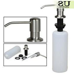 plastic bottle hand soap dispenser spray bathroom