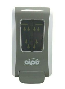 GOJO Plastic Dispenser,Wall Mount,White/Gray, 5270-06