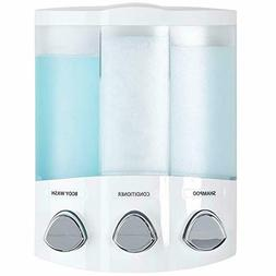 Better Living Products 76354 Euro Series TRIO 3-Chamber Soap