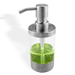 Seafulee Refillable 8.8 Oz Liquid Soap or Lotion Dispenser W