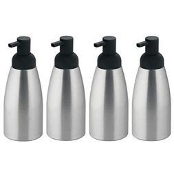 mDesign Rustproof Aluminum Soap Dispenser Pump, for Kitchen