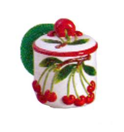 Scrub holder Red cherry