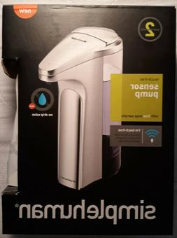 simplehuman 13 oz. Sensor Pump, Brushed Nickel