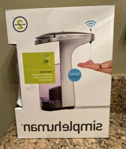 simplehuman Sensor Pump Soap Dispenser with Sample Soap