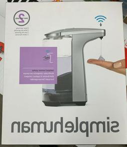 simplehuman Sensor Pump Touchless Soap Dispenser  with Sampl