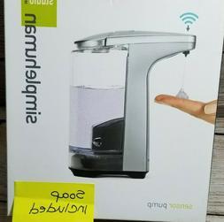 Simplehuman Sensor Pump Touchless Soap Dispenser  - Brushed