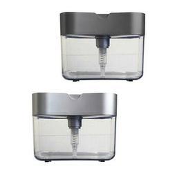 Set Soap Dispenser Sink Organizer Pump Soap Dispenser with S