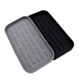Silicone Drain Tray For Tableware Water Cup Fruit Vegetable