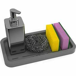 Sponge Holder - Kitchen Sink Organizer - Sink Caddy - Silico