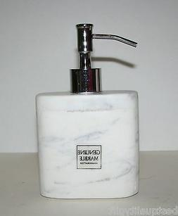 SILVER AND WHITE GENUINE MARBLE STONE KITCHEN,BATHROOM SOAP,