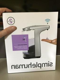 Simple Human Compact Sensor Pump Soap Dispenser 8 oz Brushed