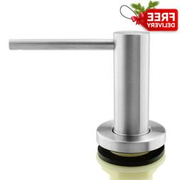 seafulee Sink Soap Dispenser Solid Heavy Modern Stainless St
