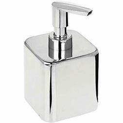 MDesign Small Modern Square Metal Refillable Liquid Hand Soa