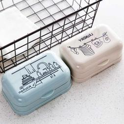 Soap Dish Case Dispenser Holder Box Container Holder Travel