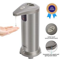Soap Dispenser, CHUNNUO 3.0 Electric Touch-less Automatic So