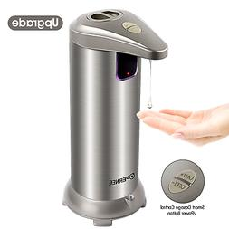 OPERNEE Soap Dispenser, Automatic Hands Free Fingerprint Res