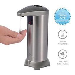 GLAMFIELDS Soap dispenser, Touchless Stainless Steel Automat