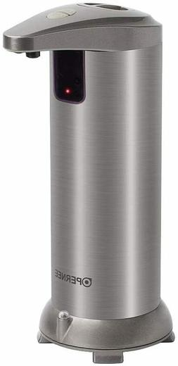 Soap dispenser, OPERNEE Automatic Touchless Stainless Steel