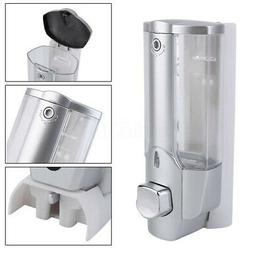 Soap Dispenser Bathroom Shower Shampoo Lotion Wall Mount Con