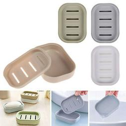 Soap Dispenser Dish Case Holder Container Box  for Bathroom