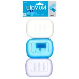 3PC Soap Dispenser Dish Case Holder Container Box for Bathro