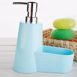 Soap Dispenser Kitchen Bathroom Pump Liquid Bottle Lotion Si