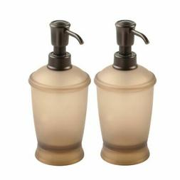 mDesign Soap Dispenser Pump Bottle for Kitchen - 2 Pack