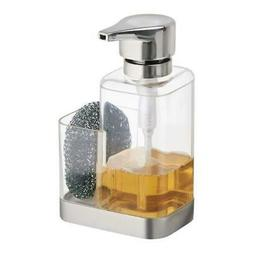 Soap Dispenser Pump With Sponge Or Scrubber Holder For Kitch