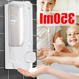 Soap Dispenser Wall Mount Bathroom Shower Shampoo Lotion Con