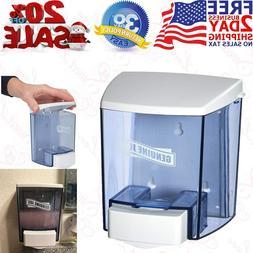 Soap Dispenser Wall Mounted Bathroom Shower Manual Kitchen H