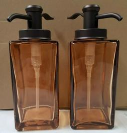soap dispensers 2 bottles new