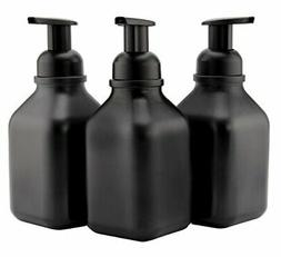 Cornucopia Brands Glass Foaming Soap Dispensers , 16-Ounce C